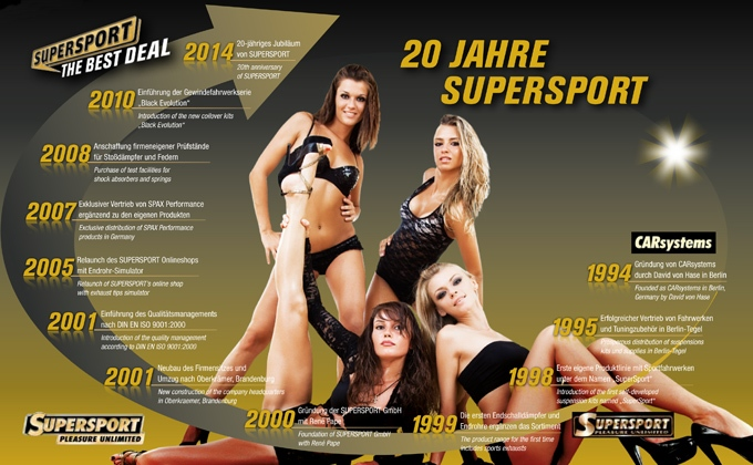 20 Jahre SUPERSPORT Tuningshop